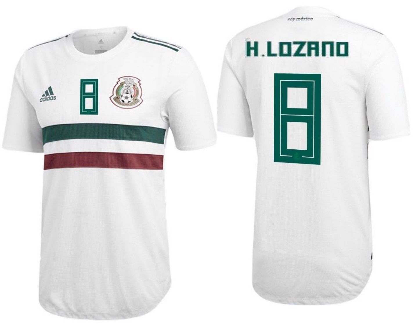 1ab4f009c Adidas H. Lozano Mexico Authentic Match Away and 50 similar items