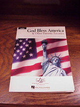 Irving Berlin's God Bless America and Patriotic Favorites Song Book for ... - $8.95