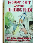 POPPY OTT AND THE TITTERING TOTEM hc repro dj Leo Edwards author of Jerr... - $32.00