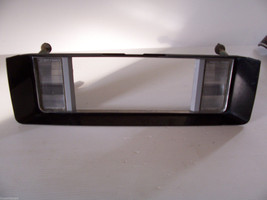 1987 1989 LESABRE LICENSE PLATE SURROUND REVERSE LIGHT RED PANEL OEM USE... - $96.77