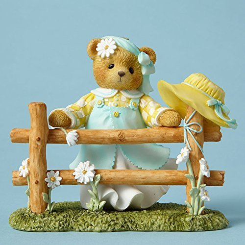 Cherished Teddies Collection Gwyn Figurine Jump Any Fence For You