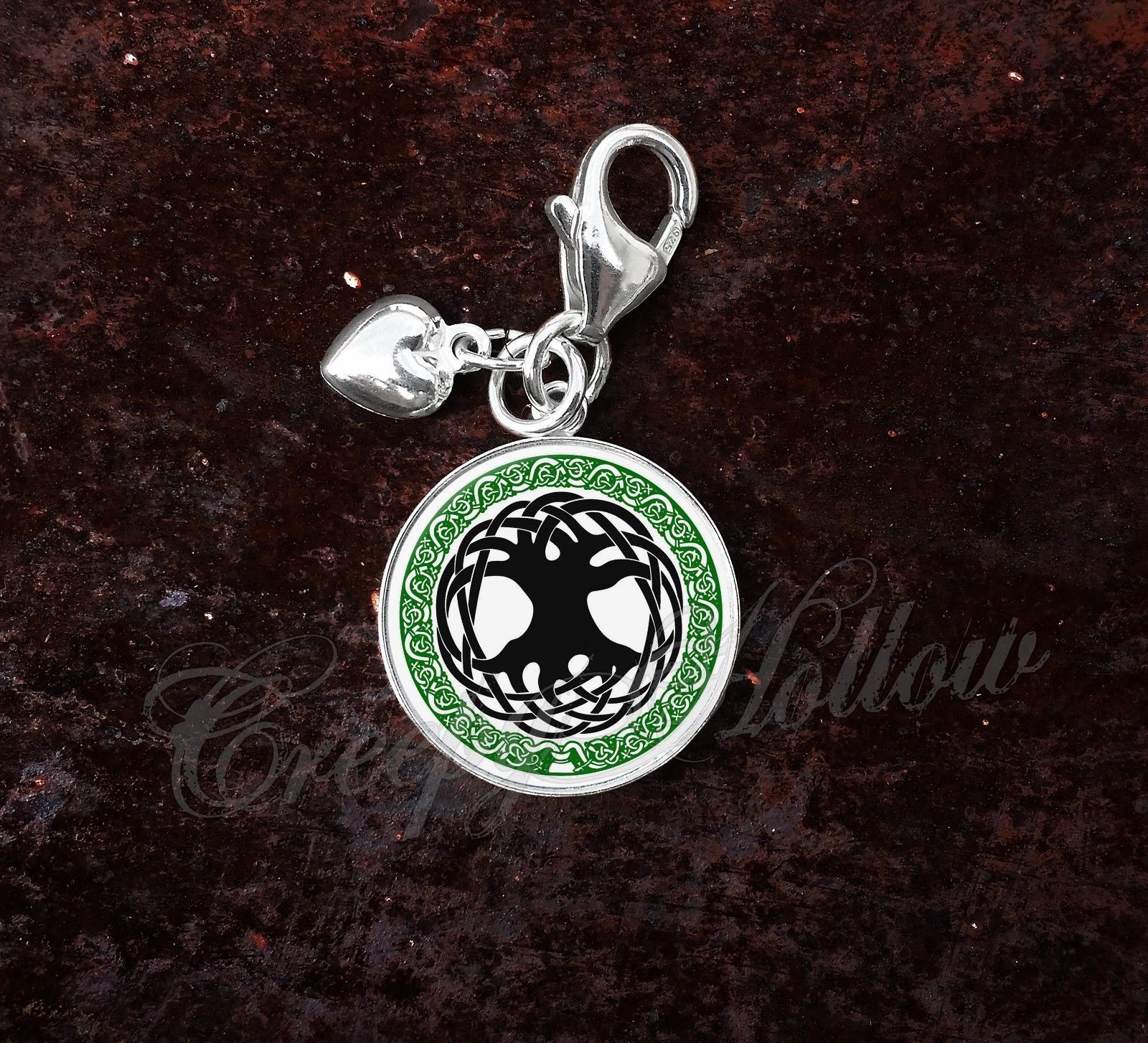 925 Sterling Silver Charm Tree of Life Celtic