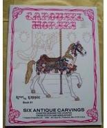 Carousel Horses Antique Carvings Kappie Originals - $10.00
