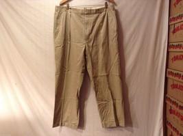 Mens Bullock & Jones Khaki Dress Pants, see measurements for size