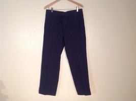 Mens Dockers Stretch Waistband Dark Blue Dress Pants, Size 33X30