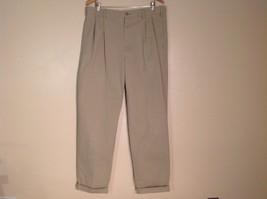 Mens Eddie Bauer Wrinkle Resistant Classic Fit Khaki Dress Pants, Size 38X34