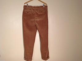 Mens Polo By Ralph Lauren Light Brown Corduroy Pants, Size 38W/32L