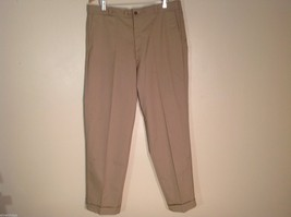 Mens Sears Perma-Prest Koratron Khaki Dress Pants, See measurements for size