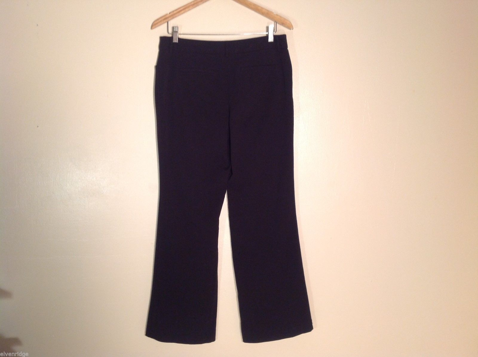 Womens APT. 9 Modern Fit Black Dress Pants, Size 10