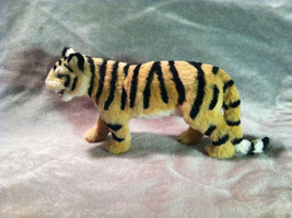Wild Tiger Orange Cat Animal Figurine - recycled rabbit fur