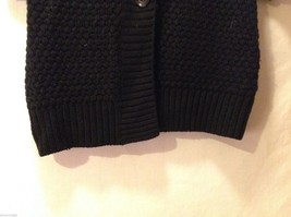 Womens Banana Republic Short Sleeved Button Up Sweater, Size Small image 4