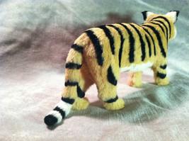 Wild Tiger Orange Cat Animal Figurine - recycled rabbit fur image 5