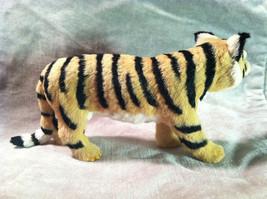 Wild Tiger Orange Cat Animal Figurine - recycled rabbit fur image 6