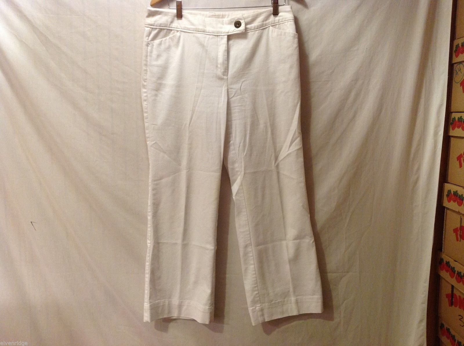 Womens Nine West & Co. Petite White Pants, Size 14P