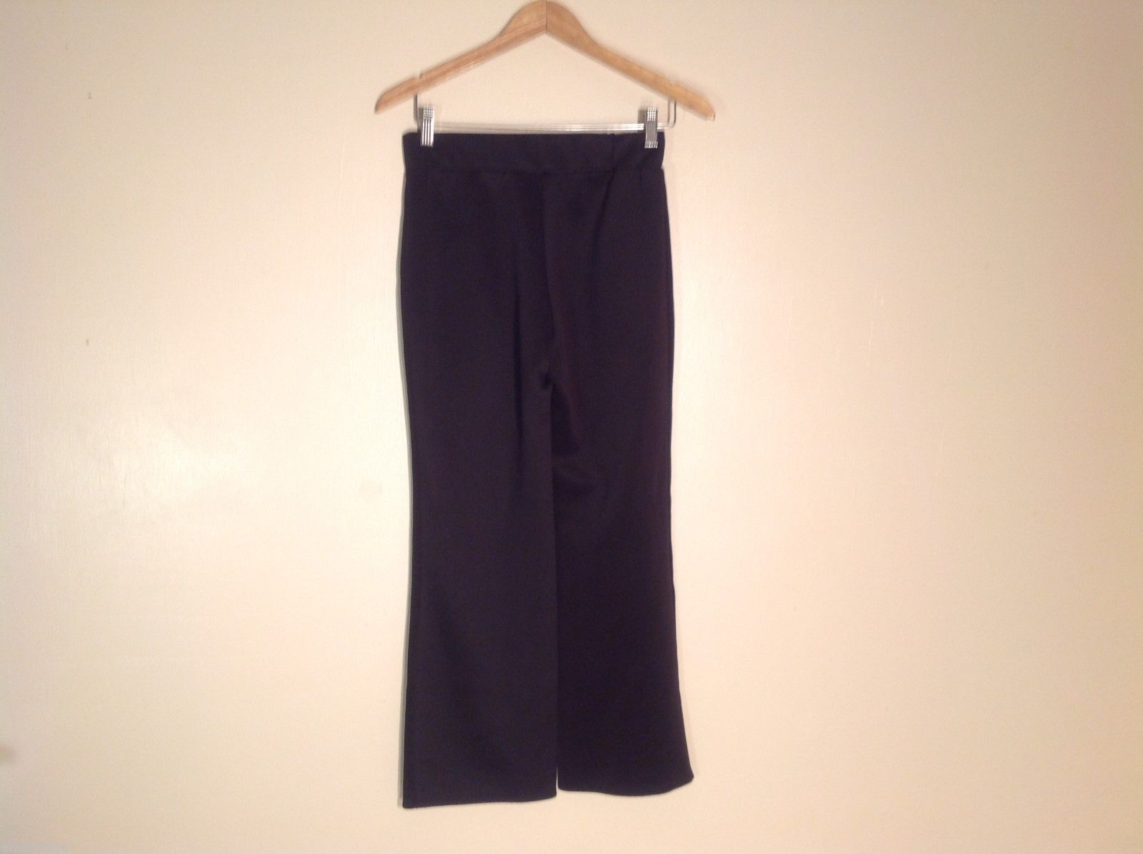 Womens Sunny Leigh Petite Black Athletic Pants, Size PS