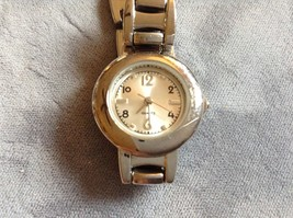 Womens Silver Quartz Watch, 7-3/4 inches  in length