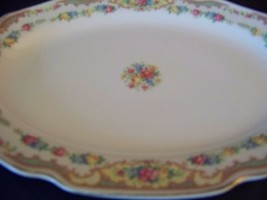 "8x11"" oval platter MT MOUNT CLEMENS Pottery Mil... - $11.76"