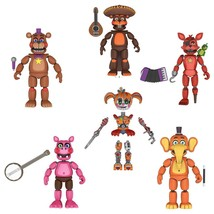 Five Nights at Freddy's Pizza Simulator 5-inch Action Figure Set Scrap Baby - $74.95