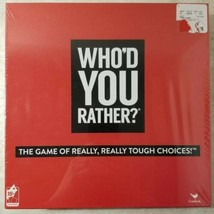 Who'd You Rather? Cardinal Board Game New Sealed Free US Shipping  - $24.75