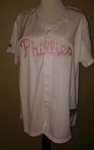 Philies Ryan Howard  Majestic Jersey Women's Sz XL Mlb Baseball 09 World Series - $51.48