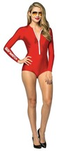 Baywatch Womens Adult Costume Red Swimsuit Lifeguard Sexy Halloween GC3908 - £43.49 GBP