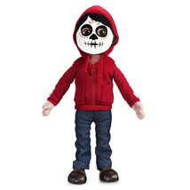 Disney Miguel Plush Figure Pixar Coco Dia De Los Muertos New with Tags - $34.64