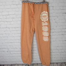 Victorias Secret Pink Sweatpants Womens Small S Light Orange D41 - $27.88