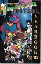 Ninja High School Yearbook Graphic Novel Comic #4 Antarctic 1993 UNREAD VERY FN+ - $3.50