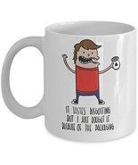Funny Graphic Artist Coffee Mug Cartoon Design Travel Ceramic White Cup  - $14.95+