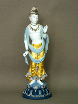 Lladro 1923 Standing Buddha High Porcelain Item 01001923 Perfect condition - $2,241.36