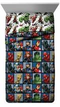 Marvel Avengers Team Full Size Bed Comforter 76in x 86in image 1