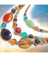 FREE WITH $99 HAUNTED HARNESSING CEREMONIAL NECKLACE 300+ RITUALS MAGICK... - $0.00
