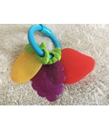 Learning Curve Baby Strawberry Grapes Lemon Teether Toy  - $4.50