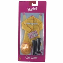 Mattel 1997 Barbie Cool Careers Fire Fighter Outfit Accessories Clothes ... - $13.96