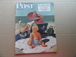 Saturday Evening Post Magazine July 22 1950 Complete - $12.99
