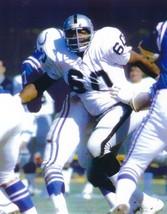 Otis Sistrunk 8X10 Photo Oakland Raiders Picture Game Action - $3.95
