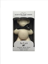 Teddy Bear Soap - Au Lait Luxury Milk Bar Soap 4.2 oz - Scottish Fine Soaps - $12.59