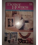 Butterick 4349 Padded Picture Frames - $11.64