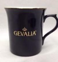 Gevalia Kaffe Ceramic Black Luster Finish Collectible Coffee Mug - $14.99