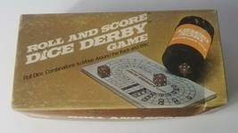Roll And Score Dice Derby Game 1977 Milton Bradley Lowe  - $13.09