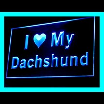 210108B I Love My Dachshund Loyalty Instruction Typical Extreme LED Ligh... - $18.00