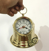 Sir Williams Smith Vintage Theme Clocks Brass Binnacle Head Compass Style Clocks - $33.40