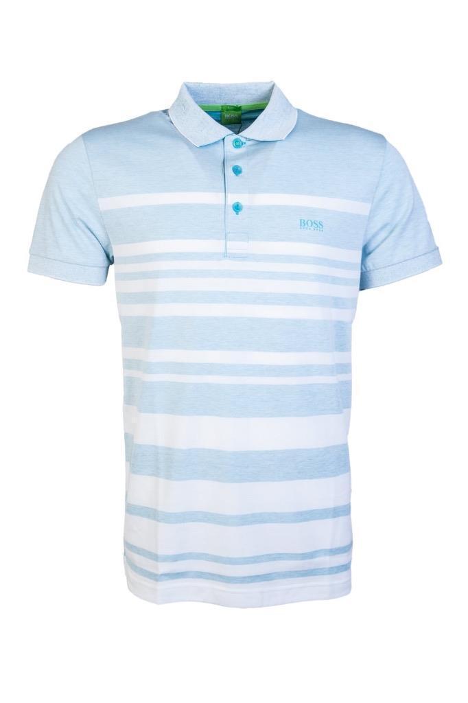 bc06996b7 New Hugo Boss Men's Premium Sport Paule 8 Slim Fit Polo Shirt T ...