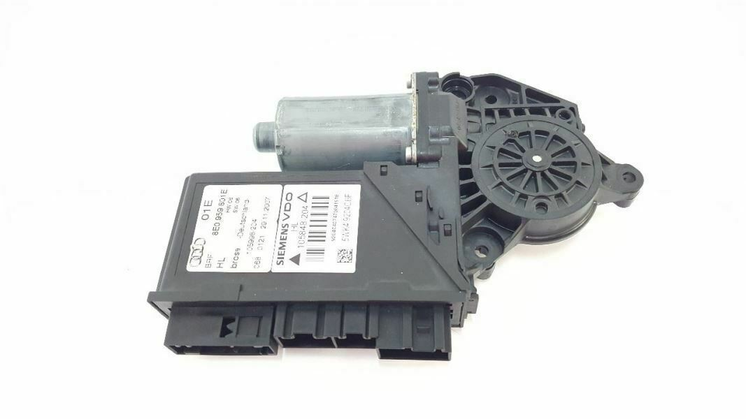Primary image for Driver Rear Power Window Motor P/N: 8e0959801e OEM 04 05 06 07 08 Audi A4 Sedan