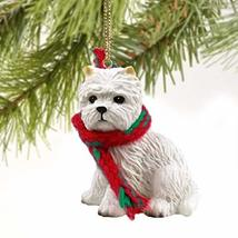 West Highland Terrier Miniature Dog Ornament - $10.99