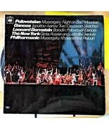 POLOVETSIAN DANCES - LEONARD BERNSTEIN THE NEW YORK PHILHARMONIC ORCHEST... - $12.86