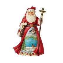 """Canadian Santa from Jim Shore Around the World Collection 7"""" High Christmas"""