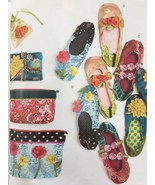 McCalls Sewing Pattern 6715 Zip Up Bags Shoes Sizes XXS-L 5-11.5 New - $18.80
