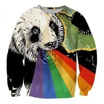 Cool Colorful Full Print 3D Sweatshirt - $36.58