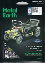 Fascinations Metal Earth 1908 Ford Laser Cut 3D Model T MMS051G - $11.92